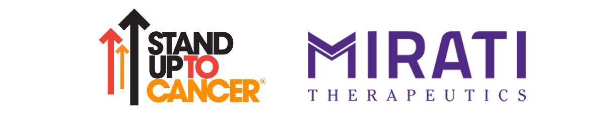SU2C and Mirati logo