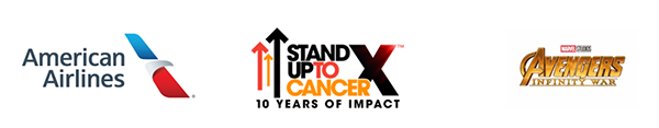 Stand Up To Cancer, American Airlines & Marvel Studios' Avengers: Infinity War Battle Against Cancer